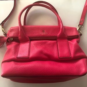 Kate Spade Bright Pink Crossbody Purse